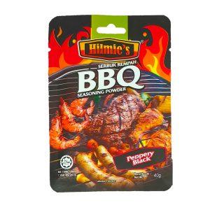 Serbuk Rempah bbq HILMIE'S (Peppery Black 40g)