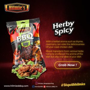 Serbuk Rempah bbq HILMIE'S (Herby Spicy 40g)