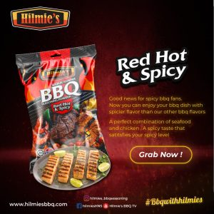 Serbuk Rempah bbq HILMIE'S (Red Hot & Spicy 40g)